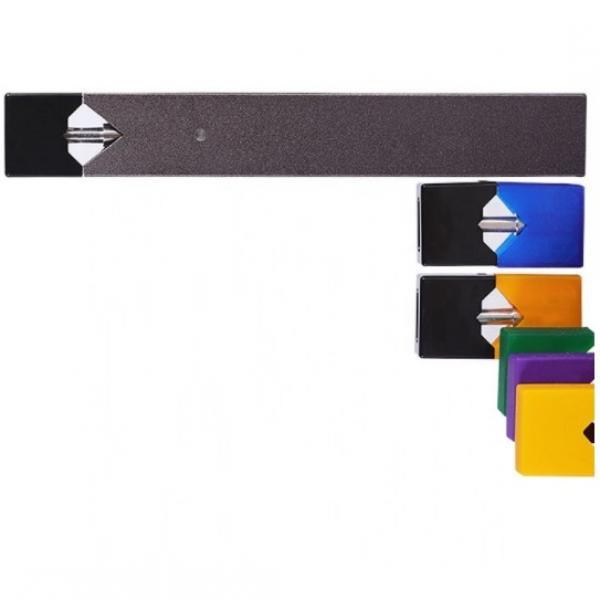 Новое поступление цветной дым электронной сигареты одноразовые 230 затяжки плоский Pod Vape ручка Мини Размеры Pod закрытые системы